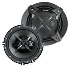 "2) New Sony XS-FB1630 6.5"" 270 Watt 3-Way Car Audio Speakers Stereo XSFB1630"
