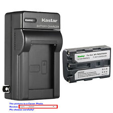 Kastar Battery Wall Charger for Sony NP-FM50 BCVM50 & Cyber-shot DSC-F828 DSC-R1