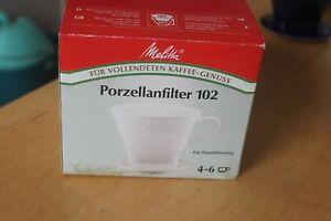 Melitta Kaffeefilter Porzellan 102 weiß