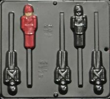 Toy Soldier Lollipop Chocolate Candy Mold Christmas 2112 NEW