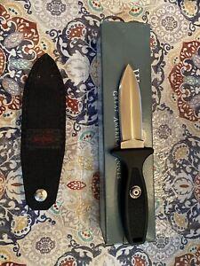 Vintage Western Cutlery BC78 Escort Blackie Collins Design New W/Sheath & Box