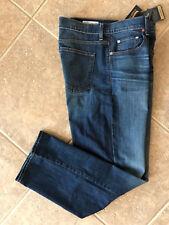 Daniel Cremieux Premium Denim Jeans Mens 35 32 Relaxed Fit Dark Wash Stretch NWT
