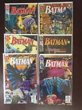 Batman Comic Book Lot , 16 Issues, DC, NM, Vol. 1, Bane