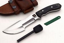 CFK iPak Custom Handmade D2 MINI-WARTHOG III Small TRACKER Hunting Camping Knife
