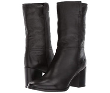New in Box FRYE Womens Black Nora Mid Pull-On Boot Round Toe 79932-Blk Size 7.5