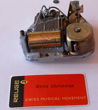"REUGE Spieluhr Musical movement ""White Christmas""  mit Schlüssel (N1245)"