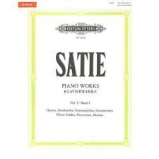 Klavierwerke Band 1 Urtext Erik Satie 9790014077785
