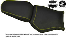 DESIGN 2 GRIP YELLOW ST CUSTOM FITS YAMAHA MT 03 06-14 FRONT + REAR SEAT COVER