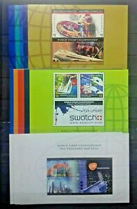"FULL SET SINGAPORE 2002 2003 2004 "" A GLOBAL CITY "" 15 MS C/W BROCHURES/COVER"