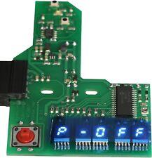 """Counter blue 0,2"""" 5-stellig 5,1 mm Zähler Zählwerk blau für Studer Revox A700"""
