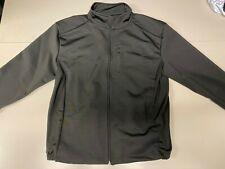 Windproof Cycling Jacket Thermal Fleece Lined Black Wind Stopper