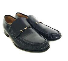 Mens Barker Moccasin Loafer Shoes, Navy, Size 10G