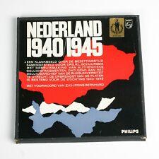 LANGSPEELPLATEN NEDERLAND 1940-1945 WW 2