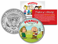 Peanuts VALENTINE'S * Charlie Brown & Peppermint Patty * JFK Half Dollar US Coin