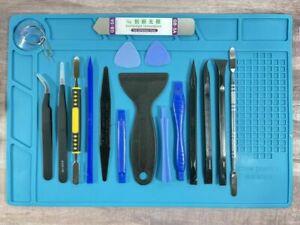 Premium Opening Pry Tool Set Repair Mat Pad Kit For Iphone XS Max/11/XR 8 7 Pro