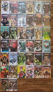 Batman And Robin New 52 Comic Lot 38 Books Lenticular Run Signed Variants