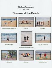"""""""Summer at the Beach""""  box of 9 Assorted Notecards"""