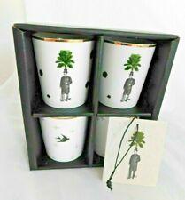 New Set of 4 Sam Baron Designer Cups Mugs French Free P&P!!
