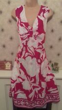 M&co Pink & White Floral Dress 16