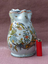 PICHET ANCIEN ROUEN GUILLIBAUD 18 siecle NEVERS FAIENCE FRENCH POTTERY