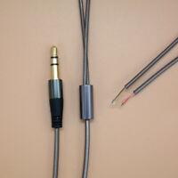 3.5mm Jack DIY Earphone Audio Cable Headphone Repair Replacement Wire Cord