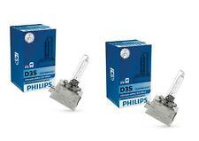 2x Philips d3s whitevision lámpara de xenón quemador 5000k hasta un 120% más de visión