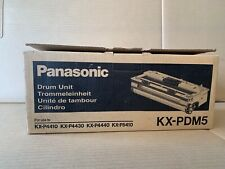 New Open Box Sealed Bag Genuine OEM Panasonic KX-PDM5 Drum Unit KX-P4410/30/40