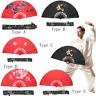 Kung Fu Bamboo Folding Fan Tai Chi Training Martial Arts Taiji Dance Print Fans