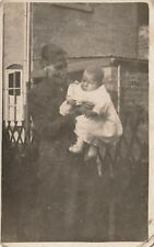 """""""Hundred Year old photo postcard from collection"""" grandmother and child"""