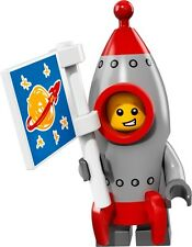 Lego collectable minifigures series 17 rocket boy costume jet space man 71018