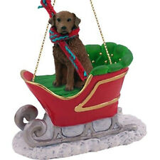 Conversation Concepts American Fox Hound Sleigh Holiday Ornament