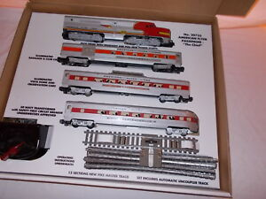 AMERICAN FLYER REPRO 20735 CHIEF SET BOX ONLY LESS TRAINS AND ACCESORIES