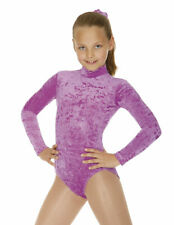 ROCH VALLEY JANE LEOTARD Girls Ladies Dance Gym Crushed Velour various colours