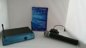 Shure SM58 Funk-Mikrofon-Set UT2 UT4A-VW . Wireless Microfon im Koffer