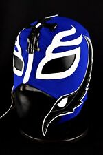 REY MISTERIO BLUE Kid Mask Mexican Wrestling Mask Lucha Libre Luchador Costume W