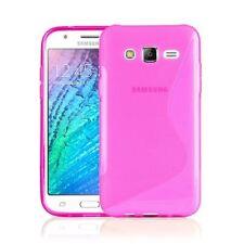 Fundas y carcasas rosas transparentes modelo Para Samsung Galaxy J7 para teléfonos móviles y PDAs