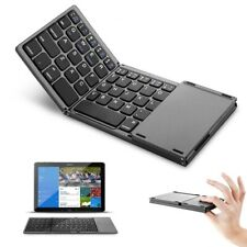 Foldable Bluetooth 3.0 Keyboard Wireless with Touchpad for iOS Android Windows