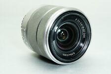 Sony Alpha SEL1855 E-mount 18-55mm F3.5-5.6 OSS Standard Lens (Silver)