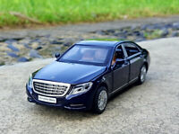 Mercedes Benz S600 1:32 Diecast Alloy Sound&Light Pull Back Car Model Toy Gift
