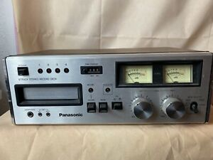 Panasonic RS-808 8 Track Tape Player Deck Stereo  WORKS