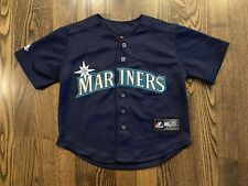 Vintage Majestic ICHIRO SUZUKI #51 Seattle Mariners Jersey Youth Toddler 4