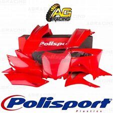 Polisport Plastics Red CR 04 Kit For Honda CRF 250R 2014-2017 CRF 450R 2013-2016
