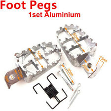 FOOT PEGS REST For Honda XR50/XR70/CRF50F/CRF70F Yamaha PW50/PW80/TW200
