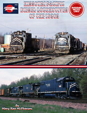 Missouri Pacific Diesels In The 1980s - 178 Photos on CD with detailed E-Book