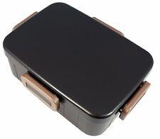 お弁当 BENTO BOX - Bento LUNCHBOX 4LOCK 650 ml - Noir - Made in Japan