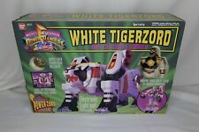 Mighty Morphin Power Rangers White Tigerzord & Figure 1994 Bandai Original