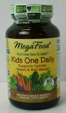 Mega Food Kids One Daily Multivitamin & Mineral Supplement 60 Tablets 03/22