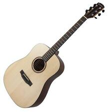 Martinez Natural Series Acoustic-Electric Dreadnought Guitar Spruce