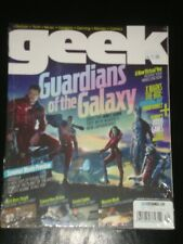 Geek magazine 2014, Guardians of the Galaxy, X-Men, Sin City, Planet of the Apes