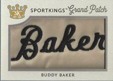 2018 Sportkings Grand Patches #SPV1BB4 Buddy Baker Patch /1 - NM-MT